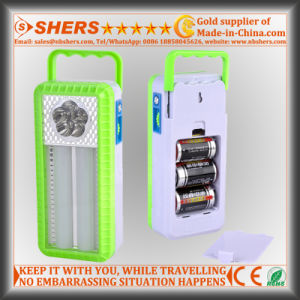 Portable LED Emergency Light with LED Flashlight, Dimmable Switch (SH-1965) pictures & photos