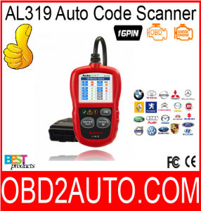 Al319 Obdii&Can Code Reader Autolink Al319 Auto Scanner