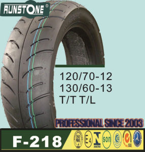 Scooter Tyre/Motorcycle Tyre 120/70-12 130/60-13 pictures & photos