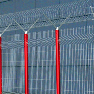 358 High Security Fence/Galvanized 358 High Security Fence/358 Anti Climb High Security Fence