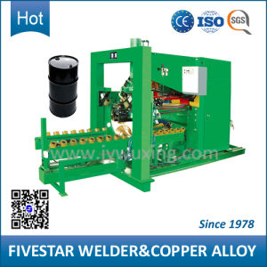 Semi-Automatic Seam Welding Machine for 210L W-Bead Steel Drum pictures & photos