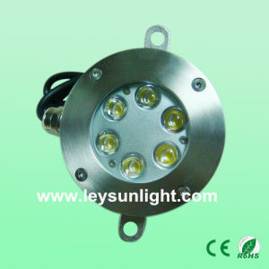 Waterproof IP68 6W 18W 12volt LED Garden Underwater Fountain Light