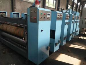 H-Speed Ink Printer Slotting Paper Machine pictures & photos