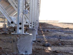 Ground Concrete Solar Pole Solar Bracket pictures & photos