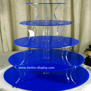 Custom Acrylic Eiffel Tower Cupcake Stand (BTR-K3015) pictures & photos