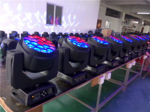 LED Moving Head 19X15W RGBW Bee Eye with Zoom (UB-1915) pictures & photos