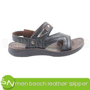 Men Sandal Casual Leather Men Sandal (SNS-05019) pictures & photos