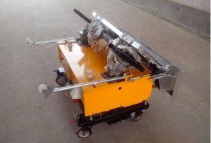 Automatic Piston Diesel Motor Render Cement Pump Machine/Mortar Plaster Wall Spraying pictures & photos