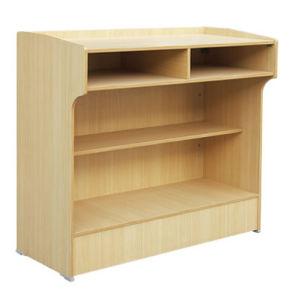 School Furniture Type Wood Material Wooden Rostrum & Podium pictures & photos
