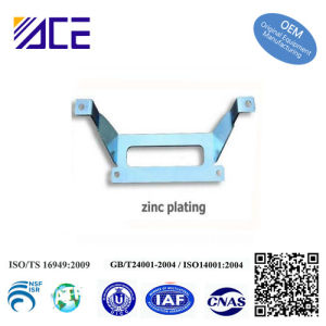Sheet Metal Stamping Zinc Plating Parts pictures & photos