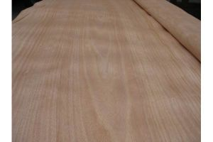 Rotary Cut Red Hardwood Face Veneer 0.20mm Used for Plywood pictures & photos