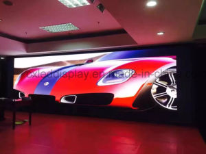 Full Color Indoor LED Flat Screen / Stage Background Video Display/Digital Signage Screen pictures & photos