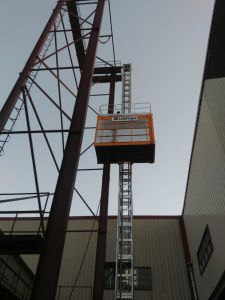 Double Cage Building Elevator Gz (SC320/320) pictures & photos