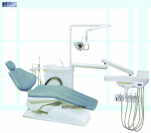 Light Blue Economy Dental Chair Unit for Sale pictures & photos