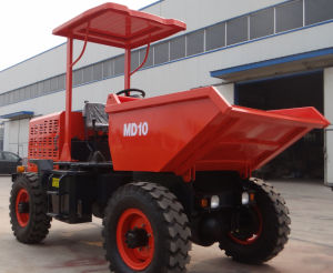 China Map Twoton Fcy10 Swivel Bucket Site Dumper Truck pictures & photos