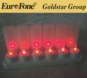 Hot Selling LED Flameless Pillar Candle/LED Tea Light Candle/Home Candle Light pictures & photos