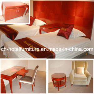 2014 Kingsize Luxury Chinese Wooden Restaurant Hotel Bedroom Furniture (GLB-80008) pictures & photos
