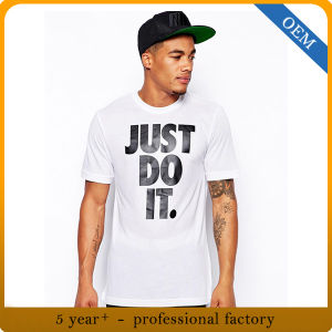 Design New Model 100 Cotton Graphic T Shirts pictures & photos