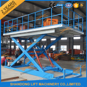 Hydraulic Car Lift Hot DIP Galvanizing Platform Car Scissor Lift with Ce pictures & photos