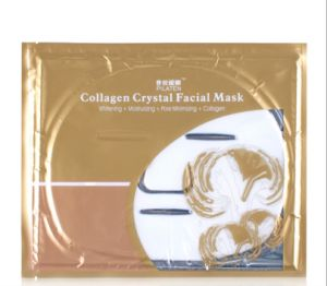 Pilaten Collagen Crystal Facial Mask Whitening Moisturizing Pore Minimizing Collagen Skin Care Face Mask pictures & photos