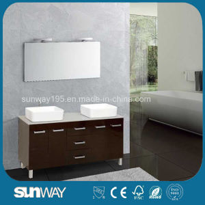 Hot Sale MDF Bathroom Cabinet with Good Quality (SW-1325) pictures & photos