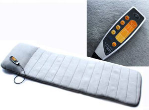 5 Motors Portable Folding Vibration and Heating Massage Mattress pictures & photos