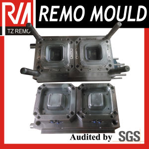 2 Cavity Thin Wall Container Bottom Mould pictures & photos