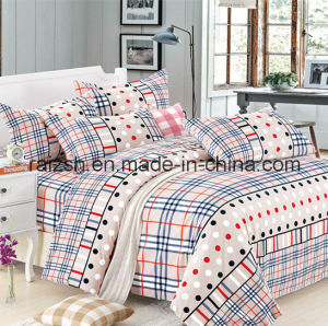 Reactive Printed 100% Cotton Twill Bedding Set (4 PCS) pictures & photos