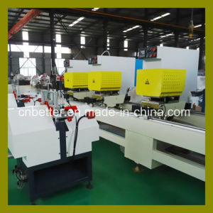 UPVC Window Door Seamless Welding Machine, PVC Welding Machinery, Three Head Window Seamless Welder Machine