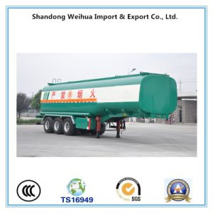 China 40cbm Tanker, Fuel Tank Trailer with 3 Axles pictures & photos