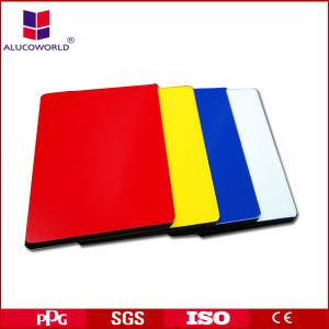 Alucoworld 2017 Hot Sale ACP Aluminium Cladding Sheet Prices pictures & photos