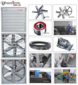 Sanhe Brand Ventilation Equipment Swung Drop Hammer Exhaust Fan/ Shutter Box Fan/ Axial Fan pictures & photos