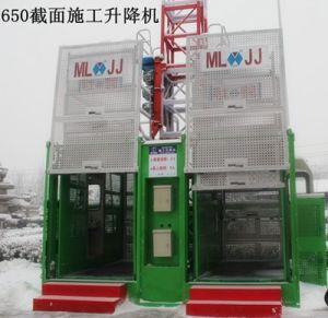 Sc200/200 Frequency Conversion Construction Hoist (SC200/200) pictures & photos