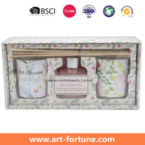 Home Fragrance Gift Set with Aroma Essential Oil Reed Diffuser and Votive Scented Candles pictures & photos