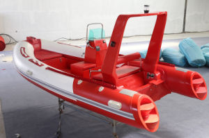 Semi-Rigid Fiberglass Boat, Fishing Boat, Rib470W, Fish Well Canbin 4.8m pictures & photos