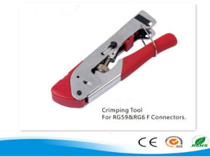 Network Crimping Tool/Pliers for Rg59&RG6 F Connectors pictures & photos