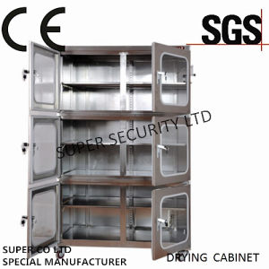 Electronic Desiccant Stainless Nitrogen Dry Box with Rustproof Paintwith 3.2mm Toughened Glass