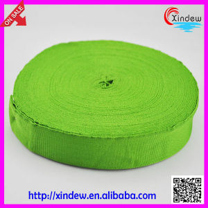 Green Clothes Belt Cotton Woven Ribbon (XDGL-010) pictures & photos