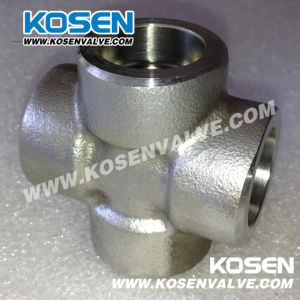 Stainless Steel Socket Weld Cross (3000LB)