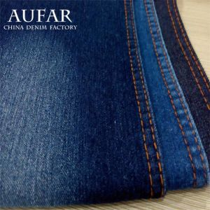 802 Woven Yarn Dyed Denim Cotton Trousers Cloth Fabric