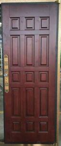 Turkish Style Copper Wooden Door pictures & photos