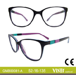Hot Sale Acetate Eyeglass Frames (81-B) pictures & photos