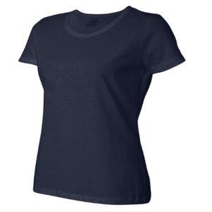 Slim Fit Cotton/Lycra Lady T-Shirt pictures & photos