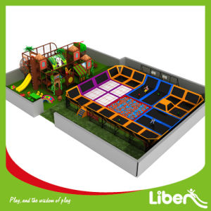 Liben Large Combined Playground Indoor Trampoline Location pictures & photos