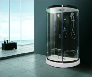 Monalisa Clear Tempered Glass Steam Shower Room (M-8288) pictures & photos