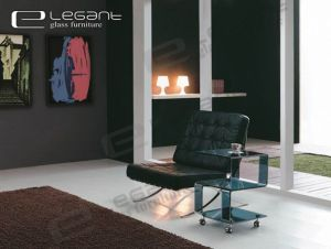 5 Sape Gray Glass End Table -S029 pictures & photos
