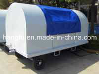Paint Baggage Cart with Canopy Waterproof (HFGP-02)