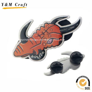 Stainless Steel Printing Animal Lapel Pins Ym1099 pictures & photos