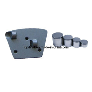 Plate Type 1 PCD Grinding Wing with PDC Cutter Blanks