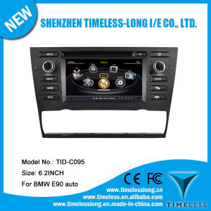 Car Audio for BMW 3 Series E90 Auto with Built-in GPS A8 Chipset RDS Bt 3G/WiFi DSP Radio 20 Dics Momery (TID-C095)